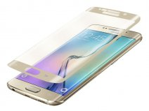 Samsung Galaxy S6 Edge Screenprotector Glas 3D Curved