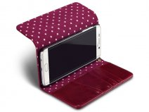 Samsung Galaxy S6 Edge+ Hoesje - Covert Polka Dot Case