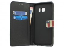 Samsung Galaxy S6 Edge Plus hoesje - USA Walletcase
