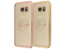 Guess Heart TPU Case - Samsung Galaxy S7 hoesje