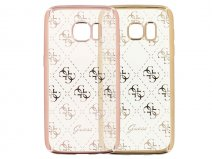 Guess Monogram TPU Case - Samsung Galaxy S7 hoesje