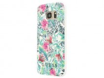 Guess Tropical TPU Case - Samsung Galaxy S7 hoesje