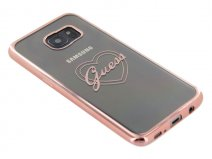 Guess Heart TPU Case - Samsung Galaxy S7 Edge hoesje
