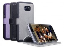 Covert Slim Book Case - Samsung Galaxy S7 Edge hoesje