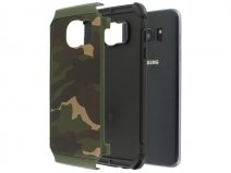 Rugged Camouflage Case - Samsung Galaxy S7 Edge hoesje