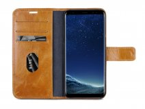 Dbramante Lynge 2 in 1 Case - Galaxy S8 hoesje (Cognac)