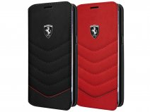 Ferrari Leather Bookcase - Samsung Galaxy S8 hoesje