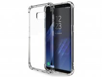Transparant Galaxy S8 hoesje - Anti-Shock TPU Case