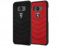 Ferrari Leather Hard Case - Samsung Galaxy S8+ hoesje
