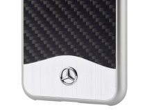 Mercedes-Benz Carbon Case - Samsung Galaxy S8+ hoesje