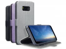 Covert UltraSlim Bookcase - Samsung Galaxy S8+ hoesje