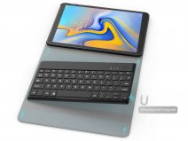 BT Keyboard Case - Galaxy Tab A 10.5 Toetsenbord Hoesje