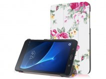 Samsung Galaxy Tab A 2016 7.0 hoesje Flowers Smart Case