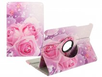 Roses Stand Case - Samsung Galaxy Tab S2 8.0 Hoesje