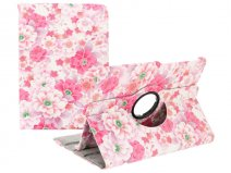 Floral Stand Case - Samsung Galaxy Tab S2 9.7 Hoesje