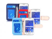 Color Bookcase - Hoesje voor Samsung Galaxy Young 2