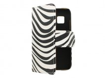 Zebra Book Case Hoesje voor Samsung Galaxy Young 2