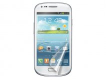 Muvit Screenprotector Glossy 2-pack voor Samsung Galaxy S3 Mini