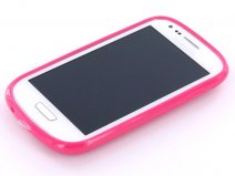 Mobiparts TPU Grip Case Hoes voor Samsung Galaxy S3 Mini