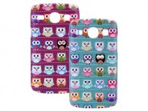 Owl Hard Case - Samsung Galaxy Core i8260 Hoesje