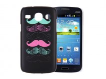 Moustache Hard Case - Samsung Galaxy Core Hoesje