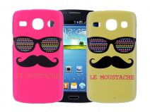 Moustache Summer Case - Samsung Galaxy Core Hoesje