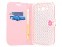 Floral Book Case Hoesje voor Samsung Galaxy Grand Neo (Plus)