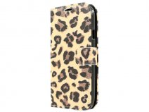 Leopard Book Case Hoesje voor Samsung Galaxy Grand Neo (Plus)