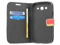Vintage GB Book Case Hoesje voor Samsung Galaxy Grand Neo (Plus)
