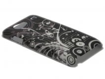 Crystals ''Black & White'' Hard Case Samsung Galaxy S Advance (i9070)