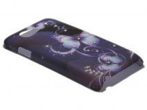 Crystals ''Butterfly Night'' Case Samsung Galaxy S Advance (i9070)