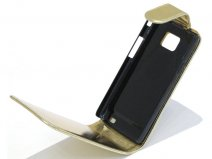 Golden Leather Case Samsung Galaxy S2 (i9100)