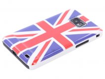 Great Brittain Flag Case Hoes voor Samsung Galaxy S2 i9100