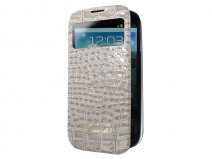 Guess Glossy Croco S-View Cover Samsung Galaxy S4 Mini
