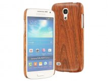 Hout-look Hard Case - Hoesje voor Samsung Galaxy S4 Mini