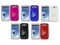 Butterfly Back Case voor Samsung Galaxy S3 (i9300)