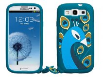 Case-Mate Creatures Peacock Skin Case Samsung Galaxy S3 (i9300)