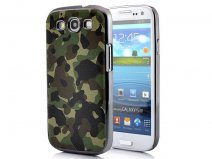 Deluxe Camouflage Hard Case Hoes voor Samsung Galaxy S3 (i9300)