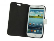 Glossy Leather Sideflip Stand Case Samsung Galaxy S3 (i9300)