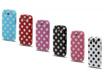 Polka Dot TPU Soft Case Hoes voor Samsung Galaxy S3 (i9300)