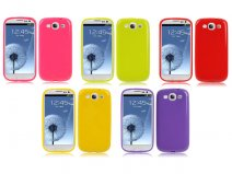 Pure Colors TPU Case Hoes voor Samsung Galaxy S3 (i9300)