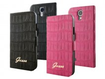 Guess Matte Croco Book Case voor Samsung Galaxy S4