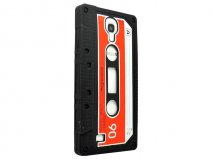 Cassette Tape Silicone Skin Hoes voor Samsung Galaxy S4