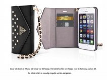 Guess Studded Clutch Case - Wallet Case voor Samsung Galaxy S5