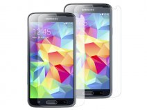 Clear Screenprotector voor Samsung Galaxy S5 (2-pack)