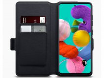 CaseBoutique Slim Bookcase Carbon - Samsung Galaxy A41 hoesje