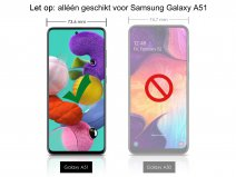 Samsung Galaxy A51 Screen Protector Curved Glass Full Cover