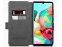 CaseBoutique Slim Bookcase Grijs - Samsung Galaxy A71 hoesje