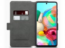 CaseBoutique Slim Bookcase Zwart - Samsung Galaxy A71 hoesje