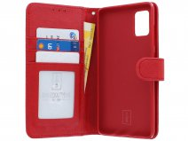 Book Case Deluxe Rood - Samsung Galaxy A71 hoesje